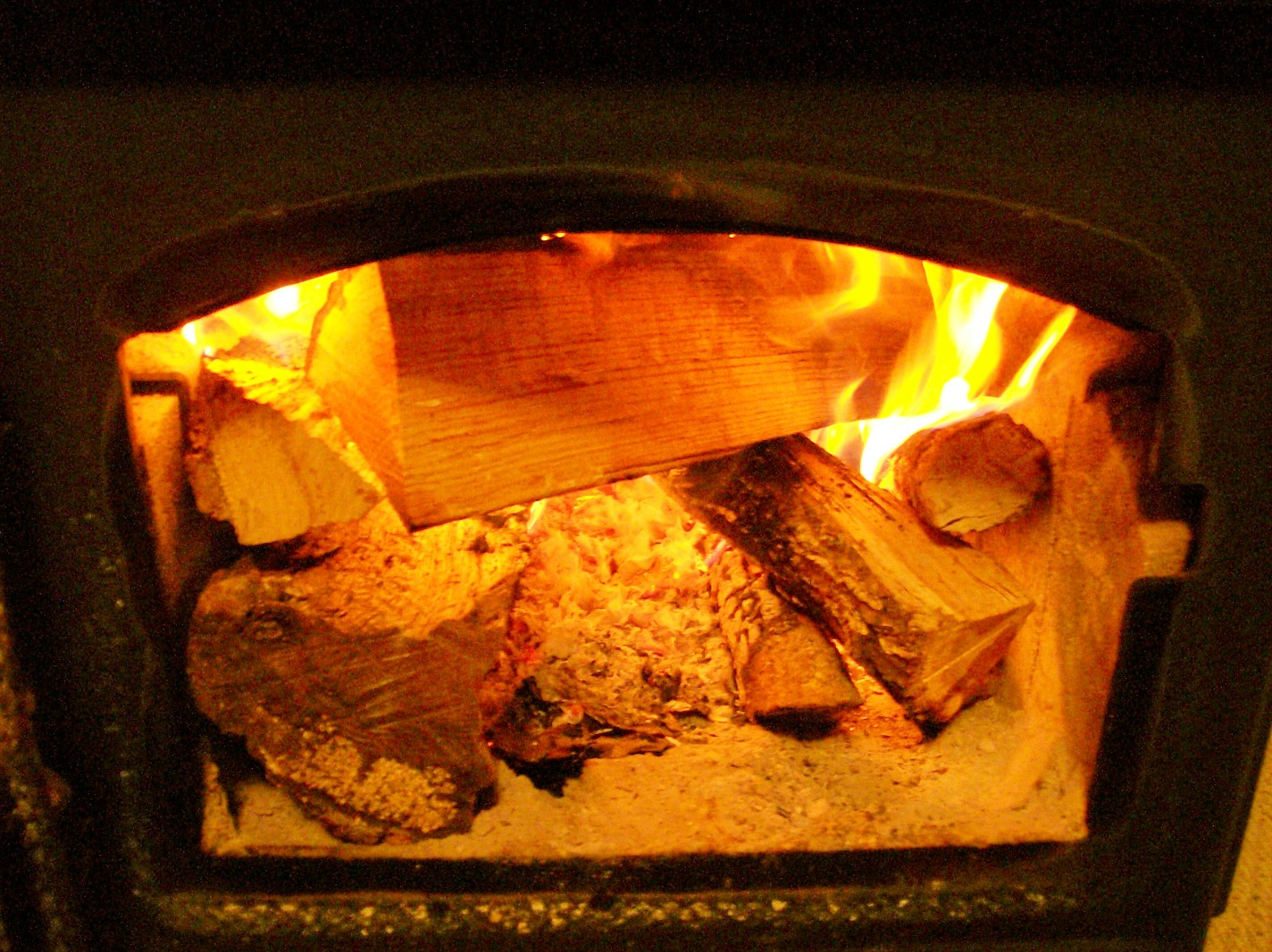 """Notes from the Hollow"" Ozarks firewood woodstove"