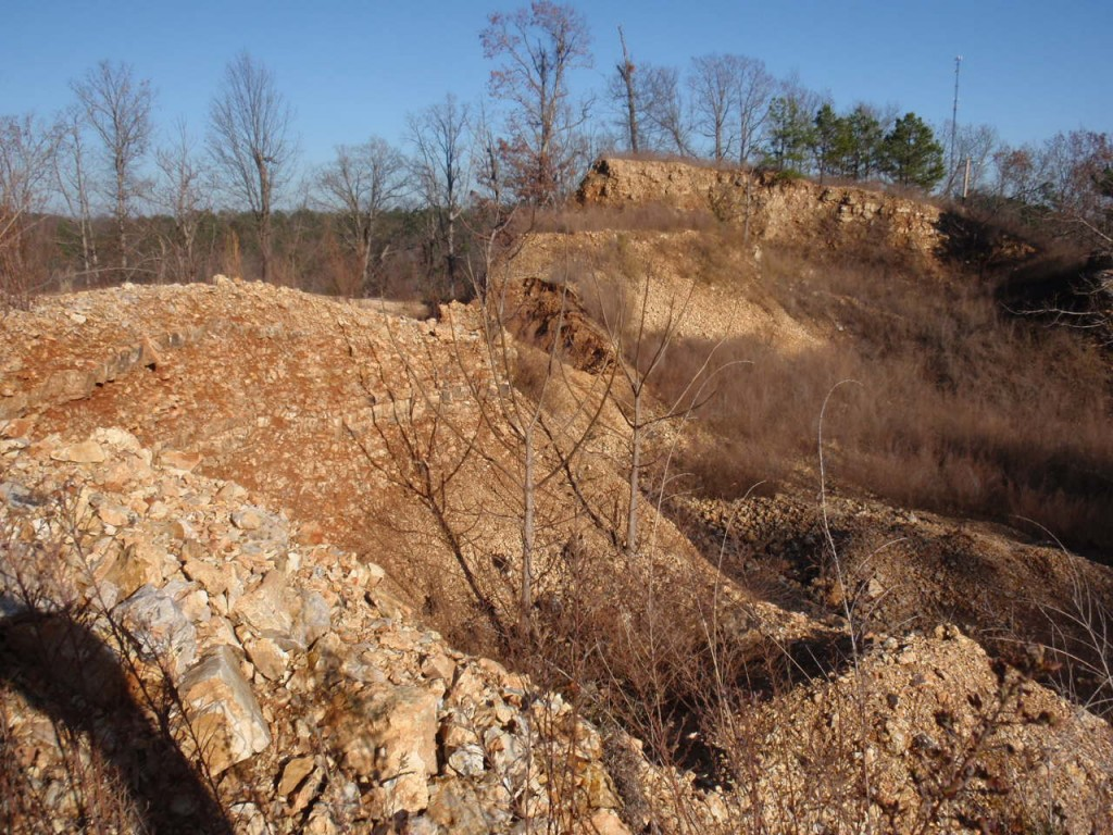 Weems Eureka Springs Arkansas Rock Quarry