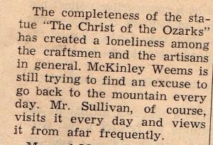McKinley Weems and Mr. Sullivan