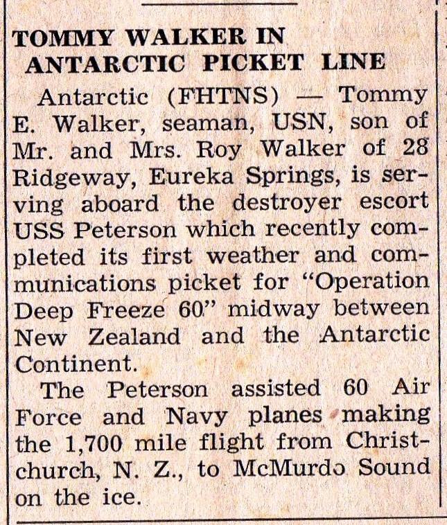 ESTE 11-12-1959 Tommy Walker