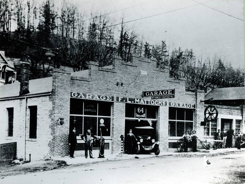 Mattocks Garage on South Main Street