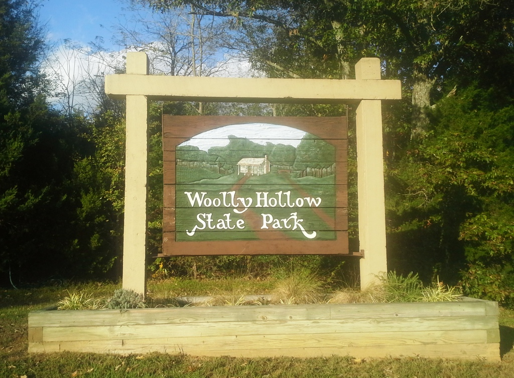 woolly hollow sign