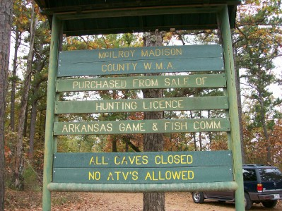 McIlroy-Madison County Wildlife Management Area Arkansas