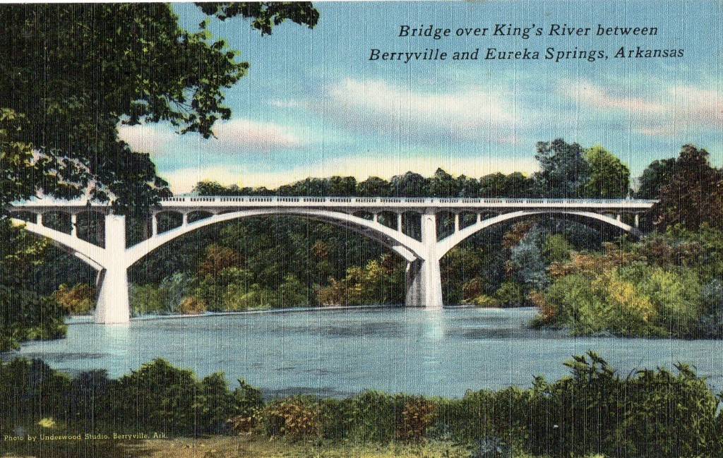 Kings River Bridge postcard